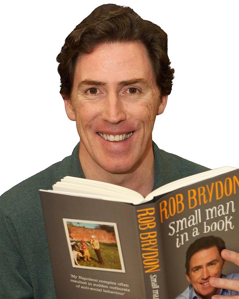 Rob Brydon book signing