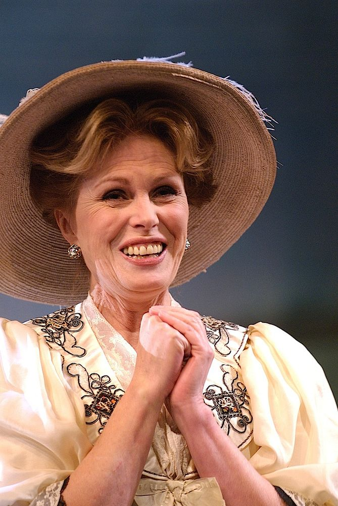 Joanna Lumley in The Cherry Orchard