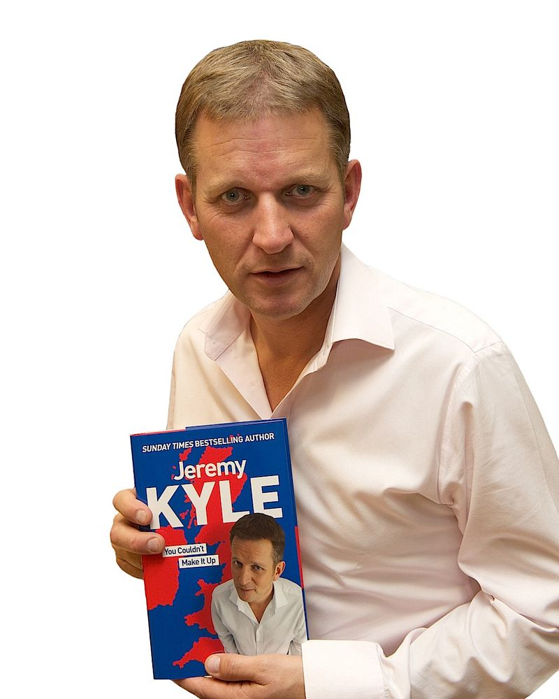 Jeremy Kyle Book signing Meadowhall Sheffield