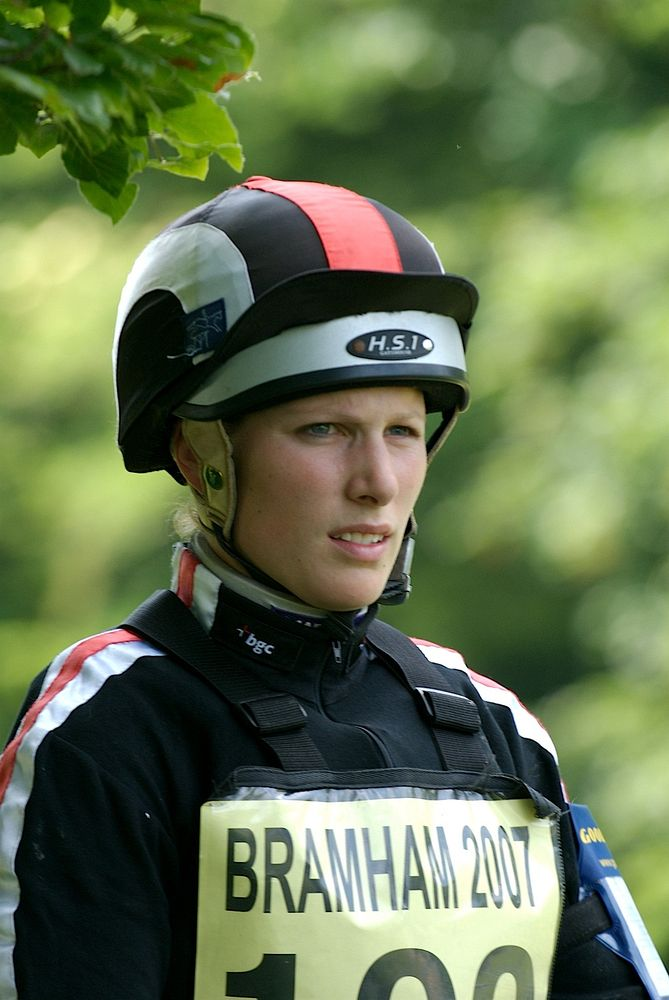 Zara Philips Bramham Horse Trials