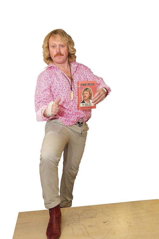 Keith Lemon, book signing, Meadowhall