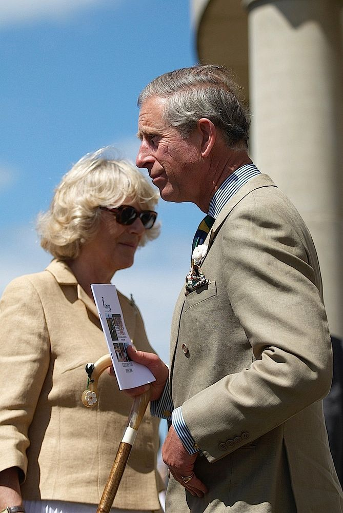 Prince Charles & Camilla visit to the Great Yorkshire Show 13th July 2006