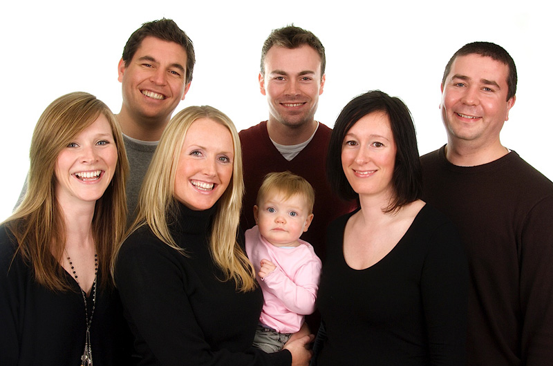 Family Portrait Studio Session Voucher